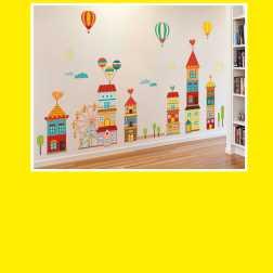 Декор стен для спален,игровых комнат,лестничных пролетов